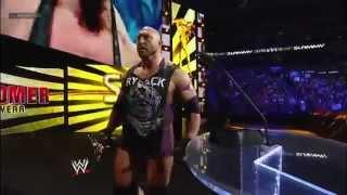 WWE Raw 12/17/12 Full Show Newcomer Of The Year 2012 Slammy Award Presentation