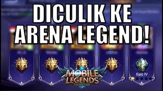 DIAJAK NYICIPIN KELAS LEGEND GUYS!!! • Mobile Legends Indonesia