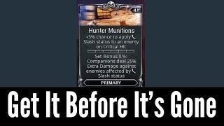 Hunter Munitions Is Broken (Warframe)