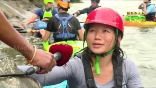 Thusharagiri ready for International White water Kayaking