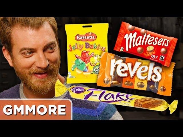 British Candy Taste Test