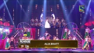 Alia Bhatt flimfare awards performance 2016