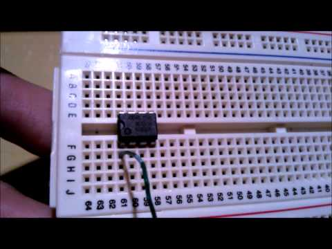 Cómo hacer un timer con un LM555.