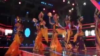 Janger - Kontemporer Dance @ Semarang Night Carnival, 3 May 2013