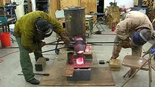 Casting 20 lb Copper  Billet