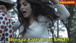 EXCLUSIVE: Shenaz Treasurywala Falls Into Cow SHIT