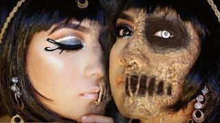 Cleopatra/Mummy Halloween Makeup