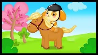 Au galop cavalier - La chanson du cheval pour les petits - Titounis