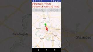 Google Maps Distance Calculator