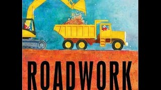 Roadwork Read Aloud Along Story Book for Children Kids