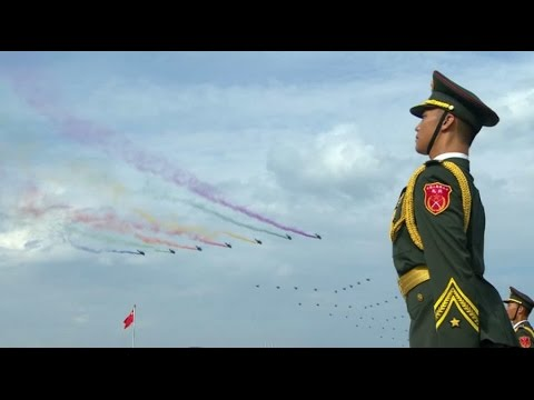 watch China's V-Day military parade in Beijing 2015