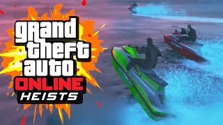 THE BIG BANK ROBBERY (GTA 5 Heists Funny Moments) #1