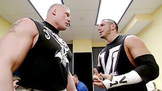 Brock Lesnar throws Matt Hardy through a wall: SmackDown, Nov. 21, 2002