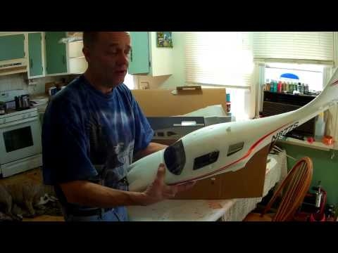 FlyZone,  Cessna Corvalis 350, 1400mm,  Speed Build / Review...(Officially Lisenced by Cessna ).