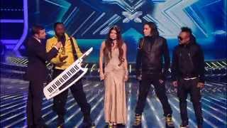 Black Eyed peas - Meet me Halfway live (on X FACTOR)