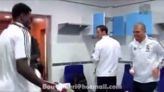 Adebayor & Pepe & Sergio Ramos Dancing