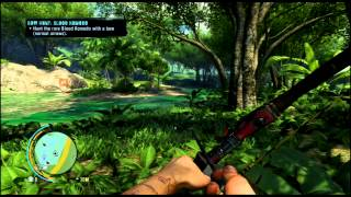 Far Cry 3 - Hunting the rare blood komodo - seriously easy! Gameplay Commentary