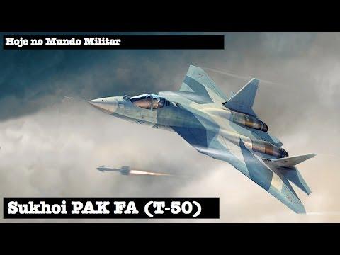 watch Sukhoi PAK FA (T-50)