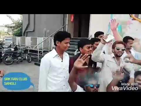 SRK FAN CLUB SANGLI maharashtra Jabra fans cake cutting