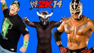 WWE 2K14: El Torito VS Rey Mysterio VS John Cena [FR//HD]