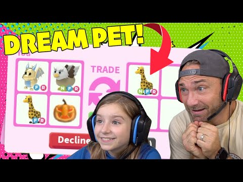 Trading My GOLDEN EGG Pet To Get My DREAM PET Roblox Adopt Me