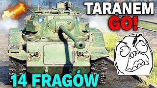TARANEM GO! - 14 Fragów - World of Tanks