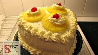 How to make Pineapple Cake / Pineapple Pastry