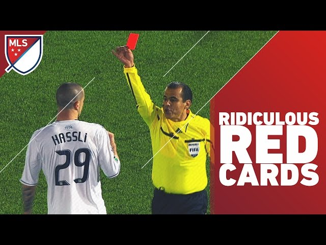 Most Ridiculous Red Cards in MLS