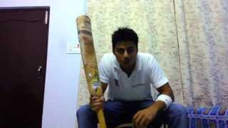 Youtube BEST! Amazing Trick to put cricket bat grip without cone by Nevin