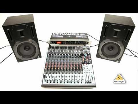 How to use FX2000 Multi-Effect Processor with XENYX mixer Aux Send