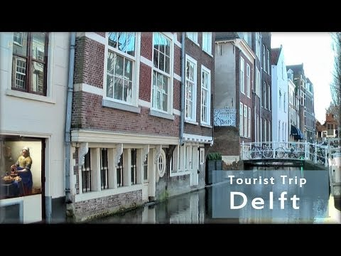 Delft in Holland the tourist city tour