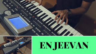 En Jeevan Keyboard Piano Cover - Theri