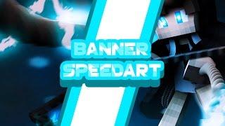 Minecraft Banner SpeedArt - AwkwardPie (1) (He is active af xD)