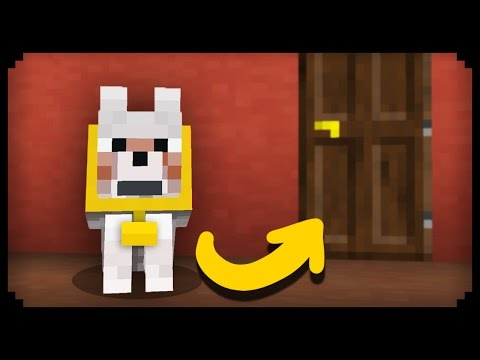 ✔ Minecraft How to make a Working Guard Dog