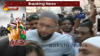 Congress and MIM Leaders Clash in Old City