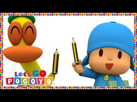 Let s Go Pocoyo Pocoyo Goes to School Episode 47 in HD
