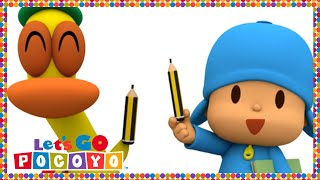 Let's Go Pocoyo! - Pocoyo Goes to School [Episode 47] in HD