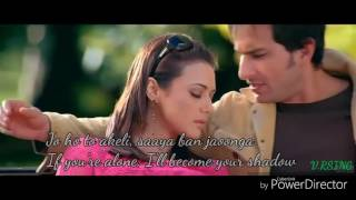 Tu Jahaan Main Wahaan - Videosong with English lyrics - Sonu Nigam - Salaam Namaste