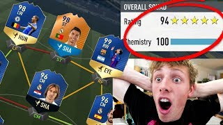 I GOT A 194 FUT DRAFT!!! *WORLD RECORD* - FIFA 17