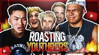 ROASTING YOUTUBERS ft. RiceGum (Logan Paul, Jake Paul, PewDiePie, SideMen Diss Track)