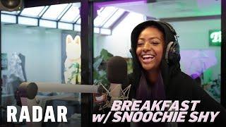 Justine Skye on Breakfast w/ Snoochie Shy