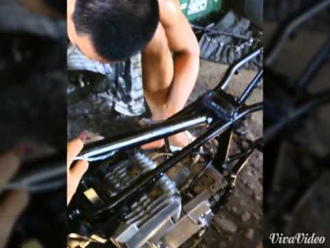 bigboy cycle parts modified suzuki X4