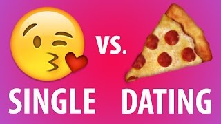 Texting When You're Single Vs. In A Relationship
