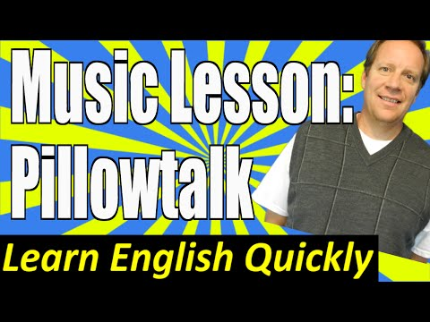 watch Beginning English Lesson with the Number 1 Song in America: Pillowtalk