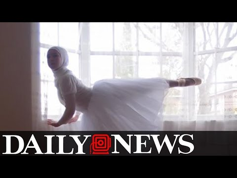 Xxx Mp4 Muslim Teen Wants To Be First Professional Ballerina In A Hijab 3gp Sex