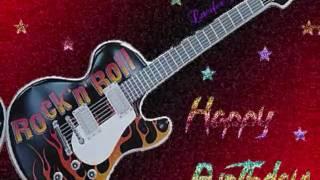 Rock Happy Birthday  Song