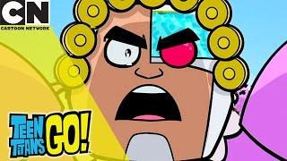 Teen Titans Go! | Grandma Voice | Cartoon Network