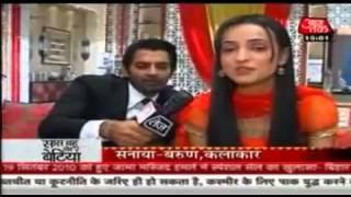 SBB ipkknd 6th February 2012 Arnav Khushi 'Bindi' Scene shoot