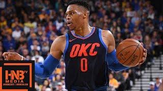Golden State Warriors vs Oklahoma City Thunder Full Game Highlights / Feb 24 / 2017-18 NBA Season