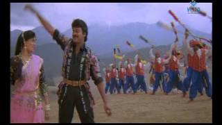 Gang Leader Movie Songs - Bhadrachalam Konda Song - Chiranjeevi, Vijaya Shanthi